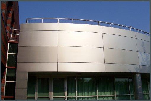 Building External Aluminum cladding