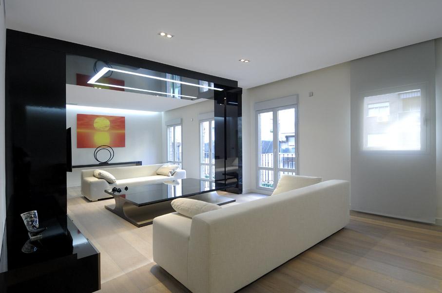 Apartment living room modern interior design