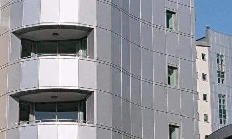 Building External Aluminum cladding 1