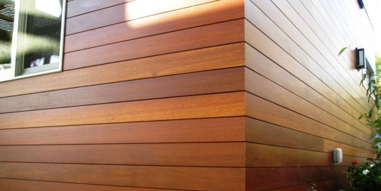 Building wood cladding 1