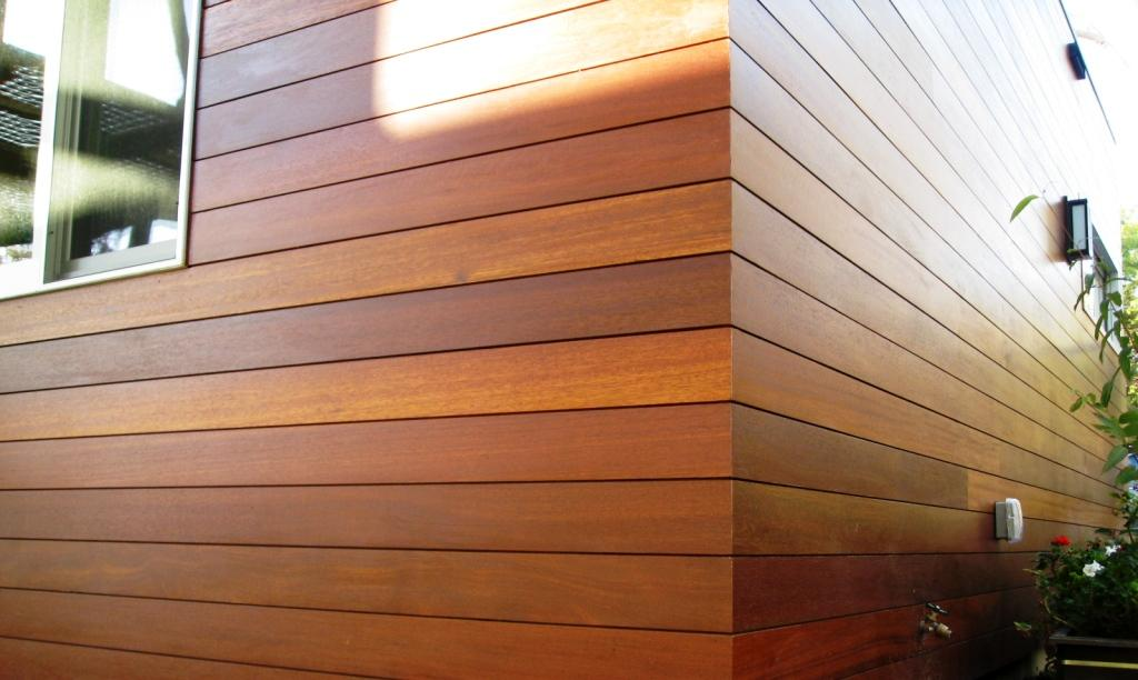 Building wood cladding 1