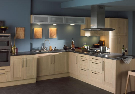 Contemporary styles kitchen cabinet design