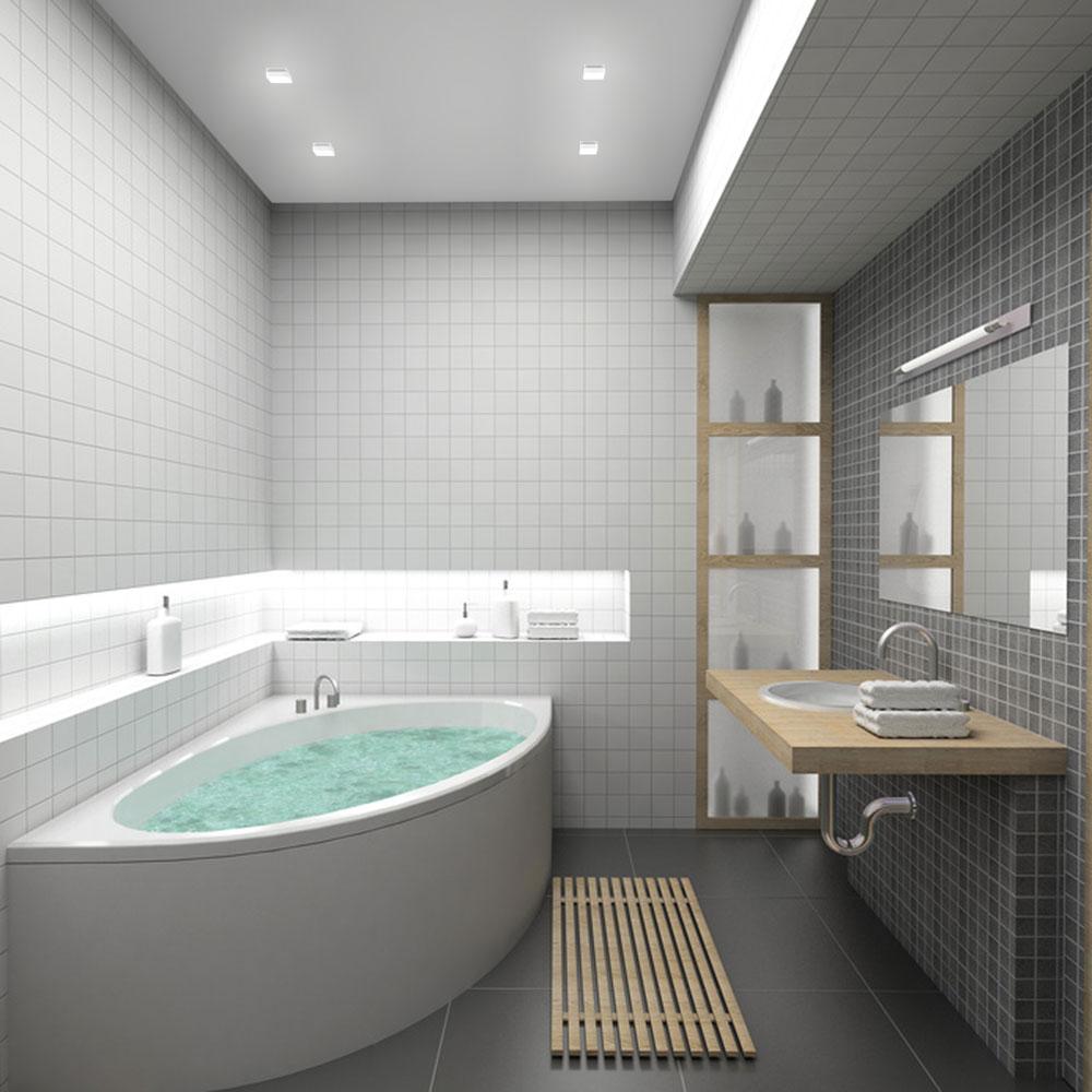 Fabulous modern minimal bathroom design