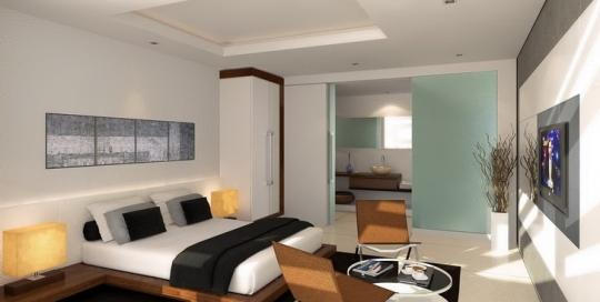 Inspiring and pampering bedroom interior design