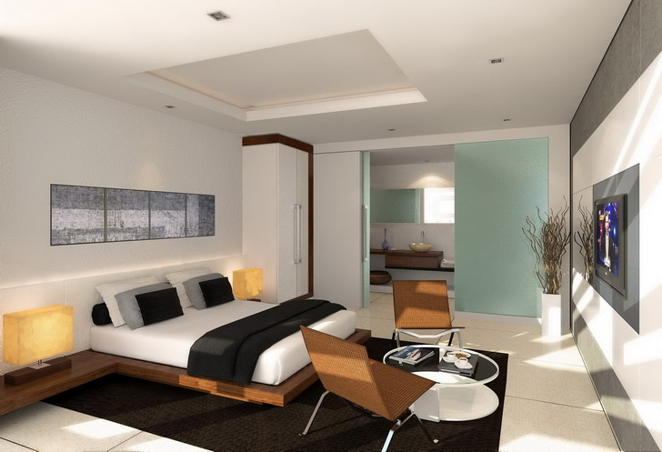 Inspiring and pampering bedroom interior design