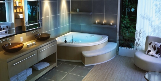 Luxury royal bathroom design