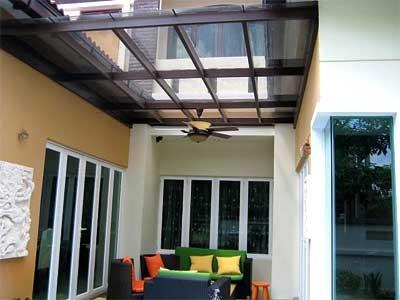 Outdoor garden skylight