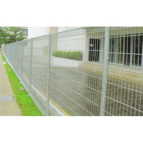 Outdoor perimeter steel fence