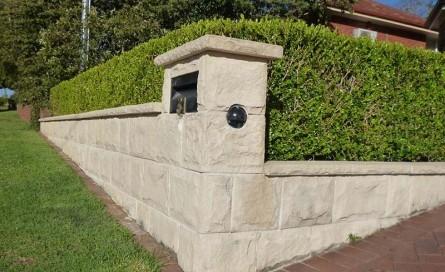 Outdoor stone cladding