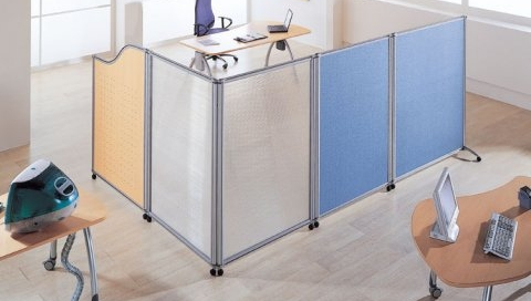 Standalone standing partition 1