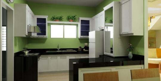 Well small space planning modern minimalist kitchen design