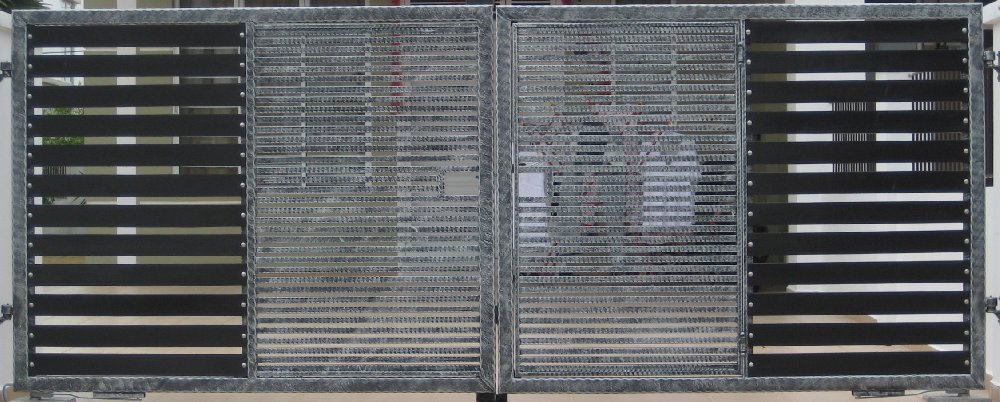 Wrought iron main gate 1
