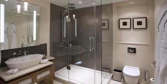 Five stars hotel bathroom design