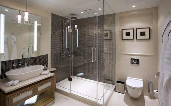 Five stars hotel bathroom design