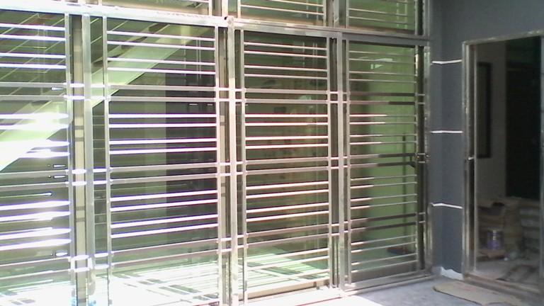 Stainless Steel Sliding Door Grille