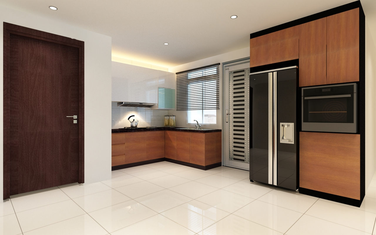 Complete concept kitchen furniture set